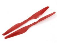 T-Style dell'elica 16x5.5 Rosso (CW / CCW) (2 pezzi)