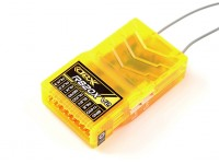 OrangeRx R820X V2 8Ch 2.4GHz DSM2 / DSMX Comp Full Range Rx w / Sat, Div Formica, F / Safe & CPPM