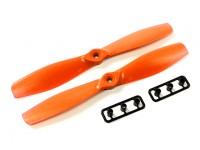 Gemfan 6045-Bullnose GRP / nylon Eliche (CW e CCW) Arancione