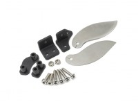 alette in acciaio inox turno e set supporto di plastica