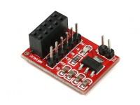 NRF24L01 2,4 GHz Transceiver Scheda adattatore Socket