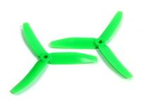 DYS X50403-G 3 Lama puntello 5x4 CW / CCW (coppia) Verde