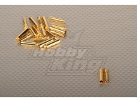 Polymax 4mm oro connettori (10pairs / set)