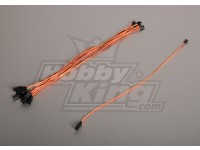40CM Servo di piombo (JR) 32AWG Ultra Light (10pcs / bag)