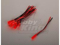 Maschio JST batteria della treccia lunghezza di 12cm (10pcs / bag)