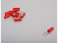 JST maschio 2 Connettore Set Pin (10pcs / set)