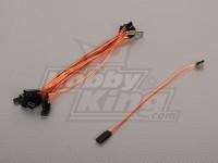 20 centimetri Servo di piombo (JR) 32AWG Ultra Light (10pcs / bag)