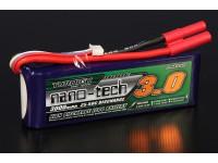 Turnigy nano-tech 3000mah 4S 25 ~ 50C Lipo Confezione