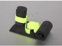 Ricevitore & General Purpose Protezione spugna con cinghia del Velcro (2 pezzi)