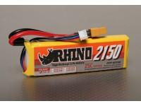 Rhino 2150mAh 2S 7.4V 25C Lipoly Confezione