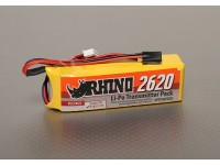 Rhino 2620mAh 3S 11.1v Low-Discharge Transmitter Lipoly Confezione