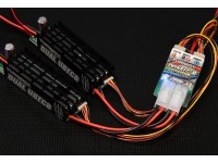 Turnigy ridondante doppio 8A UBEC Power System Rx