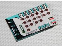 Scheda di programmazione Turnigy TY-P1 25AMP Brushless ESC