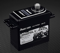 Power HD DW-25LV Digital Waterproof Servo 25kg / 0.11s / 80g- Front