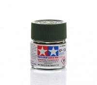 Tamiya XF-13 Flat J.A. Green Mini Acrylic Paint (10ml)