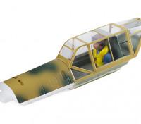 Durafly™ Bf.109E 1100mm Desert Scheme - Canopy Hatch