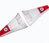 Durafly™ D.H.100 Vampire V2 RCAF - Replacement Main Wing Set