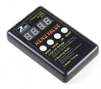 Micro 15A Brushless ESC Programming Box
