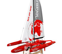 Thunder Tiger Volans 1m Trimaran Racing Yacht Kit 1