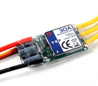 Dipartimento Funzione Pubblica YEP 30A (2 ~ 4S) SBEC Brushless Speed Controller