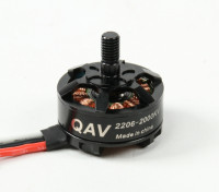 QAV RT2206-2000KV Quad Racing (CW)