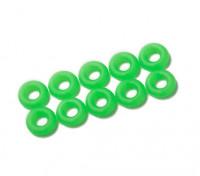 2 in 1 kit di O-ring (neon verde) -10pcs / bag