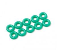 2 in 1 kit di O-ring (verde) -10pcs / bag