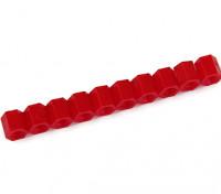 6 millimetri F / F M3 Spacer x10 - Red