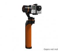Vipro-HG (per GoPro Hero3 / 4) a 3 assi a mano giunto cardanico