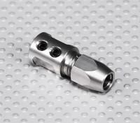 Pozzo d'acciaio Adapter - 5 millimetri albero motore a 5mm Flexi Shaft
