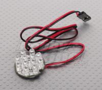 12 LED Cluster - WHITE