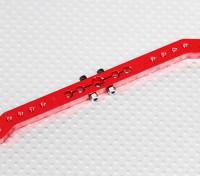 Heavy Duty 4.6in lega Pull-Pull Servo Arm - Futaba (Red)