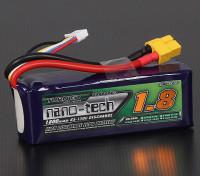 Turnigy nano-tech 1800mah 4S 65 ~ 130C Lipo Confezione