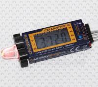 Dipartimento Funzione Pubblica ™ Cellmeter-6 Lipo / Vita / Li-ion cellulare Checker & Alarm