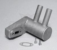 Pitts Silenziatore per 30 cc ~ motore a gas 33cc