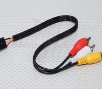 Fatshark FPV 5 Pin Molex alla A / V spine dei cavi di collegamento