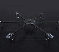 Turnigy Talon Hexcopter (V1.0) fibra di carbonio Telaio - 625 millimetri