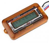 Turnigy DLUX LIPO cella batterie Display e Balancer (2S ~ 6S)