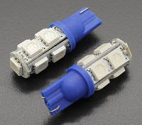 Luce del cereale LED 12V 1.8W (9 LED) - Blue (2 pezzi)
