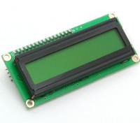 Kingduino IIC / I2C 1602 Modulo LCD con giallo / verde display