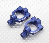 Sterzo in alluminio Knuckle Braccio (2pcs / bag) - 1/10 Quanum Vandal 4WD che corre carrozzino