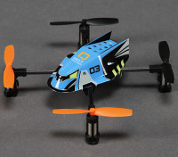 Q-BOT Micro Quadcopter w / 2.4 GHz RF Module (Spektrum / JR / Futaba compatibile)