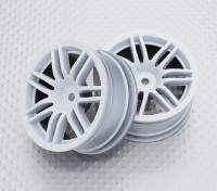 Scala 1:10 di alta qualità Touring / Drift Wheels RC 12 millimetri Hex (2pc) CR-RS4W