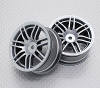 Scala 1:10 di alta qualità Touring / Drift Wheels RC 12 millimetri Hex (2pc) CR-RS4S