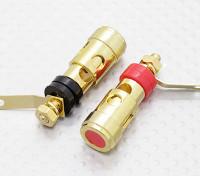 Caricato a molla 4MM elettrico Binding Post coppia