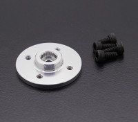 Super Heavy Duty CNC metallo Servo Disk - JR / Sanwa (Silver)