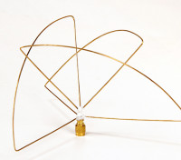 Circolare polarizzata 900MHz Trasmettitore Antenna (RP-SMA) (LHCP) (Short)