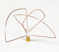 Circolare 1.2GHz polarizzata trasmettitore Antenna (RP-SMA) (LHCP) (Short)