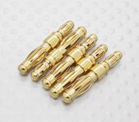 HXT 4 mm a 3,5 mm (maschio a maschio) Adattatore (5pc)