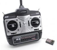 Mini trasmettitore Turnigy 5X 5Ch e ricevitore (modalità 1)